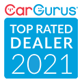 2021 CarGurus Top Rated Dealer